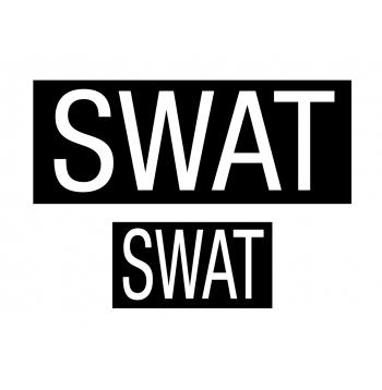 SWAT Patch Set Of Two With Hook Back