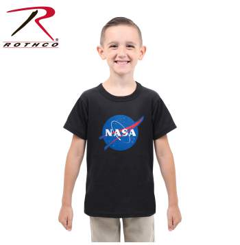 Kids NASA Meatball Logo T-Shirt