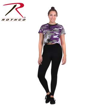 Women's Camo Crop Top