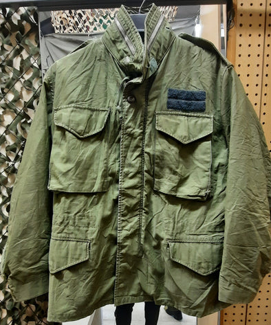 Authentic Vintage US Army Small M65 Field Coat With No Liner