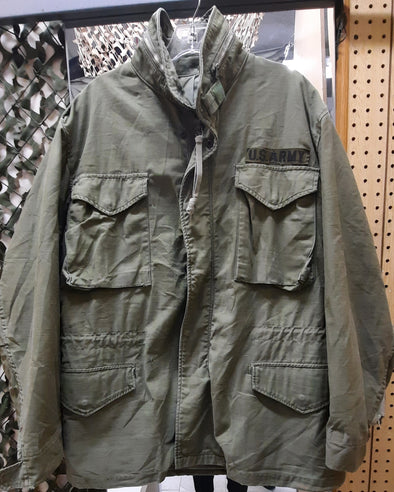 Authentic Vintage US Army Medium M65 Field Coat With No Liner