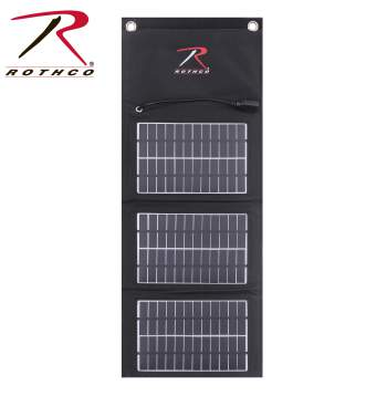 MOLLE Solar Panel With Power Bank