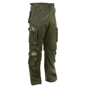 Vintage Style Accent Paratrooper Fatigues