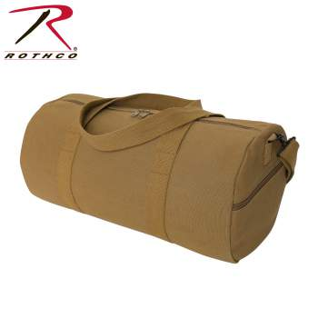 Canvas Shoulder Duffle Bag - 19 Inch