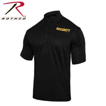 Moisture Wicking Security Polo Shirt