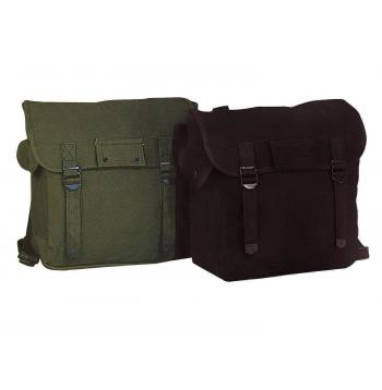 Canvas Jumbo Musette Bag