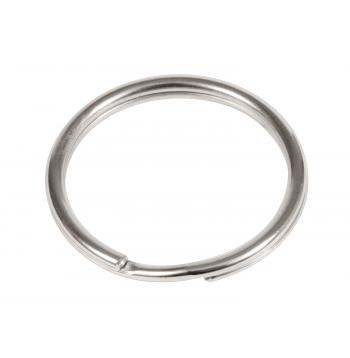 1 Split Ring / Nickel - 50 Pack