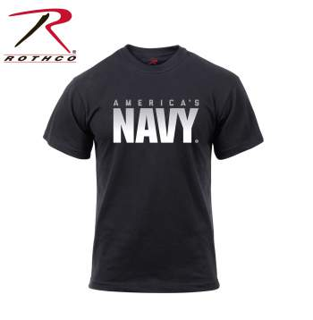Athletic Fit America's Navy T-Shirt