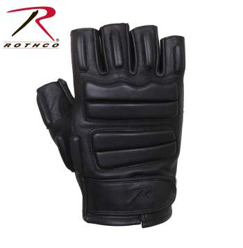 Fingerless Padded Tactical Gloves