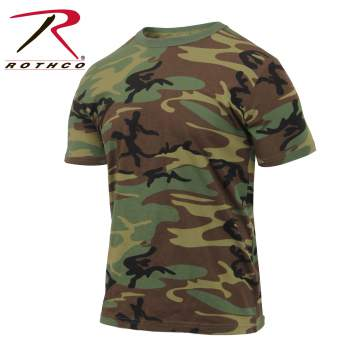 Athletic Fit Camo T-Shirt