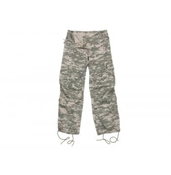 Women's Camo Vintage Style Paratrooper Fatigue Pants