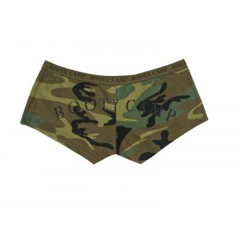 "Woodland Camo ""Booty Camp"" Booty Shorts & Tank Top"