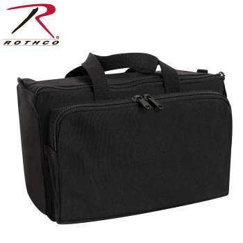 Canvas Tactical Shooting Range Bag - Black