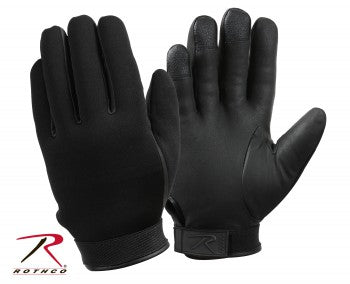 Cold Weather Neoprene Duty Gloves - Black