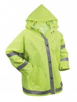 Safety Reflective Rain Jacket