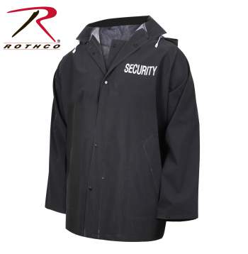 Security Rain Jacket