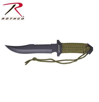 7 Inch Paracord Knife with Fire Starter