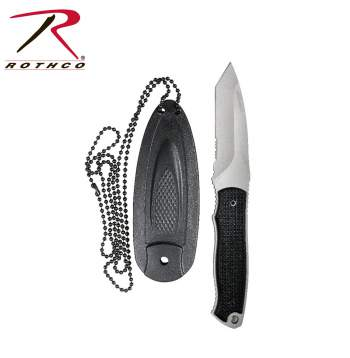 Neck Knife With Sheath