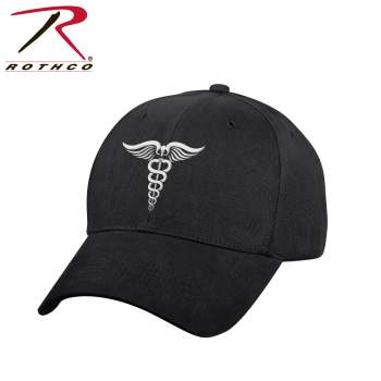 Medical Symbol (Caduceus) Low Profile Hat