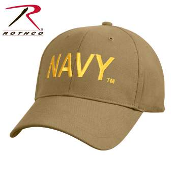 Low Profile Navy Cap - Coyote