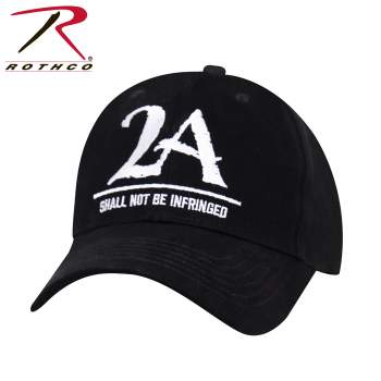 "2A ""Shall Not Be Infringed"" Low Profile Cap - Black"
