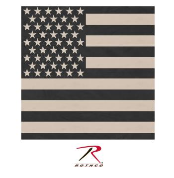 Subdued US Flag Bandana
