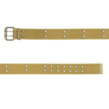 Vintage Style Double Prong Buckle Belt