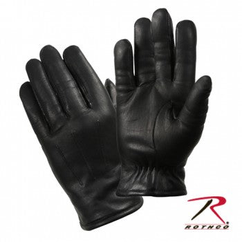 Cold Weather Leather Police Gloves