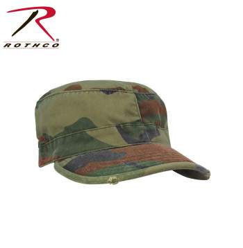 Vintage Style Camo Fatigue Caps