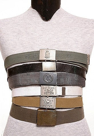 3 Web Dress Belts Grab Bag