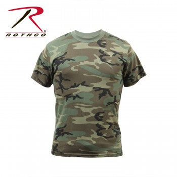 Vintage Style Camo T-Shirts