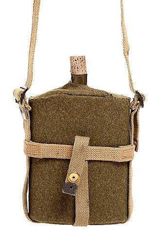WW2 British Water Bottle Blanket and Carrier