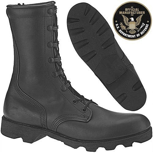 Altama Black Combat Vulcanized Boot - AL7852