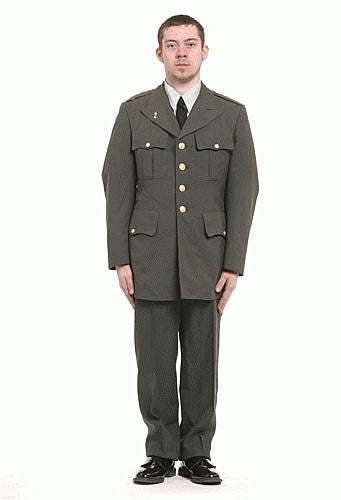 US Army Officer Uniform Costume