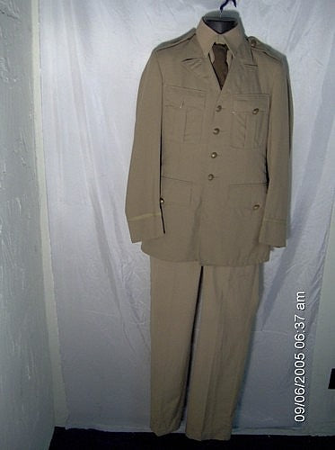 WW II Military Naval Uniform