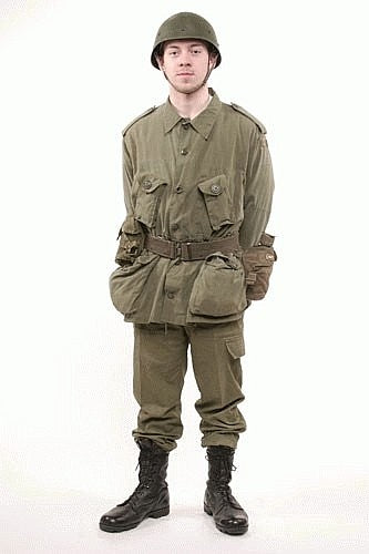 O.D. Combat Field Uniform