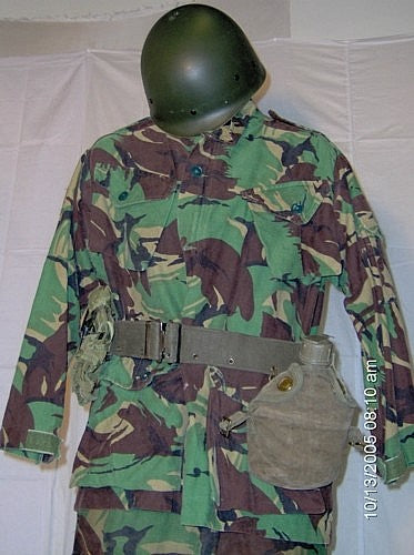 a         British Combat Field Gear