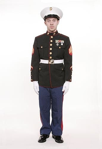 Marine Corp Dress Blue Jacket