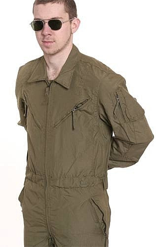 a US Army CVC Tanker Suit
