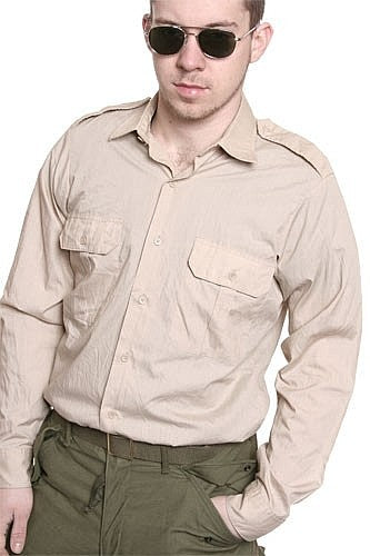 Khaki Officer Shirt