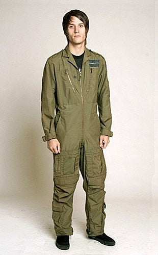 Vintage British Air Force Combat Helicopter Flight Suit