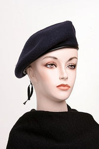 Blue Wool Beret US Issue New