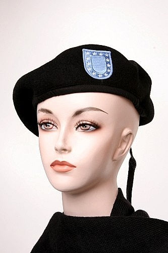 Military Wool Beret Us Army w-Flash