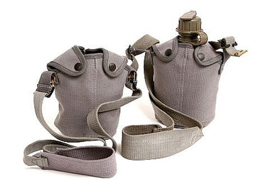 Canteen w-Cover and Shoulder Strap Pouch