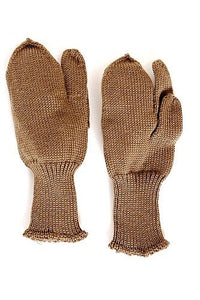 WW2 Unissued Knit Wool Trigger Mittens