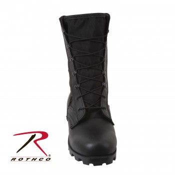 Black G.I. Type Speedlace Jungle Boots