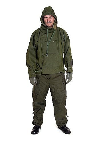 British Scent Lock Chemical Warfare Suit