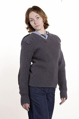 Perry winkle V neck Sweater