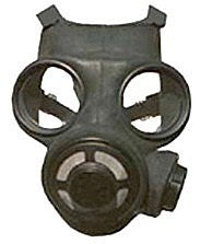 Canadian Gas Mask w/ NBC Filter and Adapter