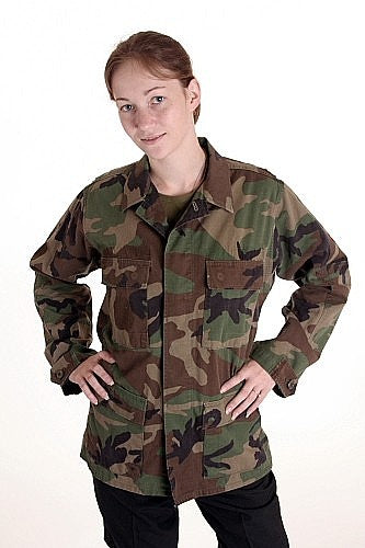 Woodland Combat Shirt US GI